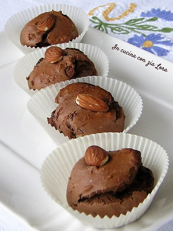 Dolcetti al cacao con nutella