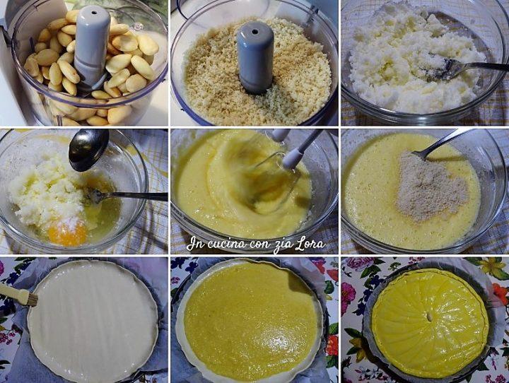 Preparazione della galette des Rois o torta dei Re Magi