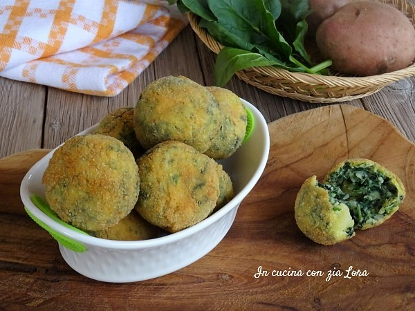 Polpette di spinaci dorate sfiziose