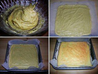 Preparazione del biscotto