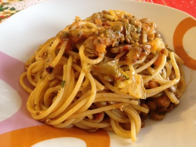 lenticchie e scarola