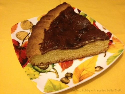 Crostata al cioccolato