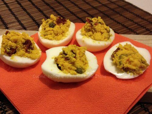 Uova ripiene saporite