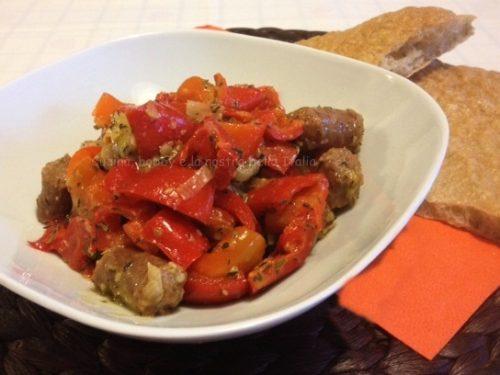 Peperoni e salsiccia