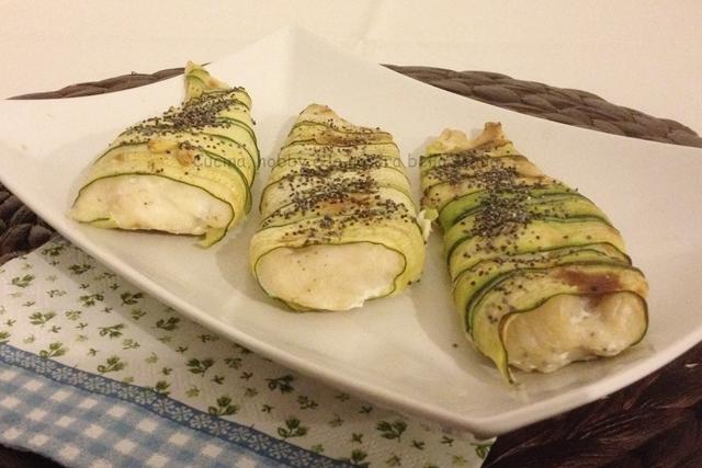 filetti di merluzzo nelle zucchine ricette secondi