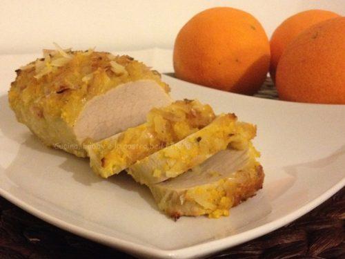 Filetto di lonza al profumo di arancia