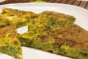 Frittata ai broccoli