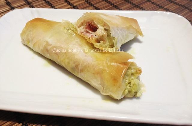 Involtini Di Pasta Fillo Con Pancetta Ricette Antipasti E Finger Food