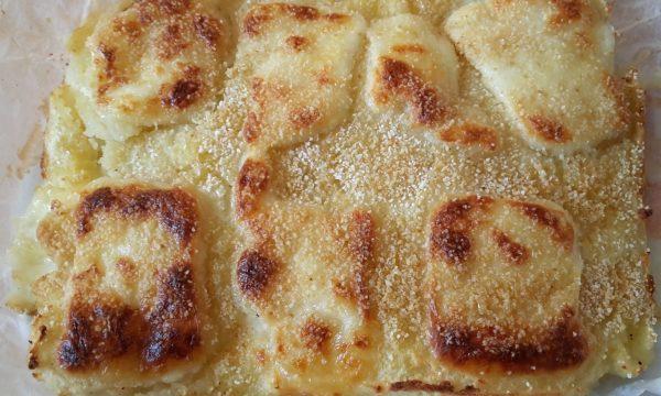 Tortino di patate e mozzarella