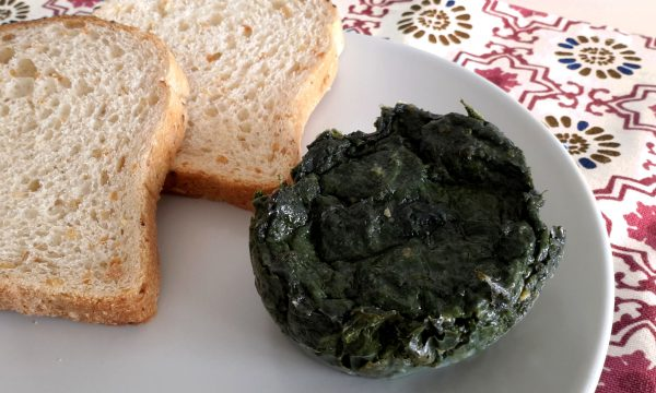 Flan di spinaci