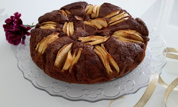 Torta mele e cacao sofficissima