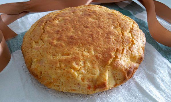 Torta di carote e yogurt con farina di riso