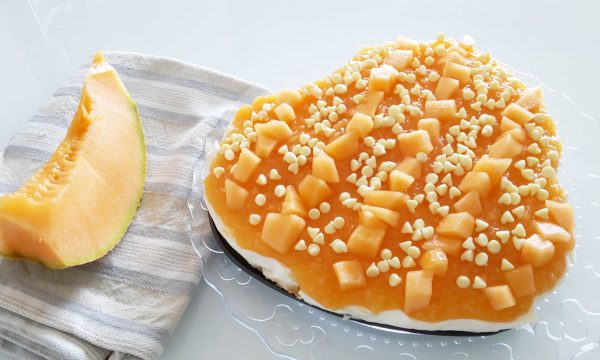 Cheesecake al melone