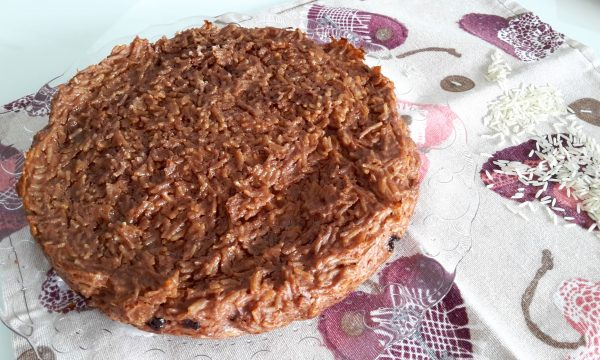 Torta di riso basmati alla cannella