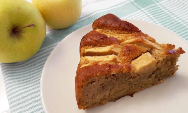 Torta integrale di mele e cannella light