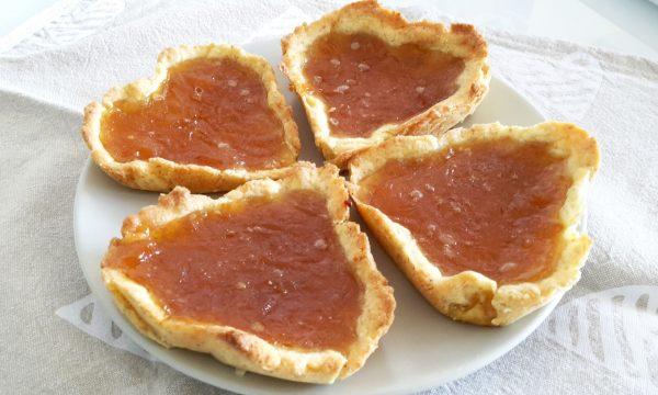 Crostatine integrali alla marmellata