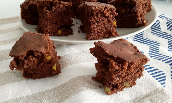 Brownies con i pistacchi