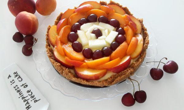 Cheesecake alla crostata alla frutta
