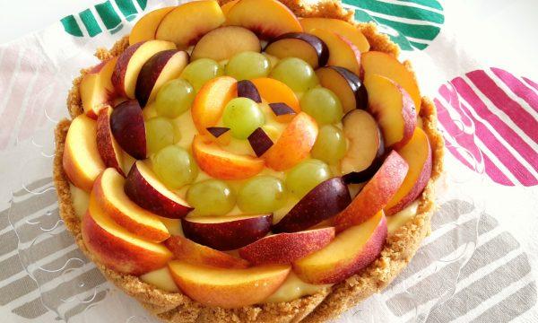 Cheesecake integrale alla frutta