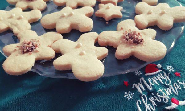 Biscottini delle feste decorati