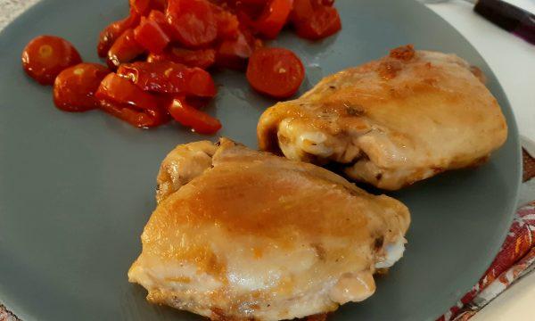 Sovracosce di pollo in padella