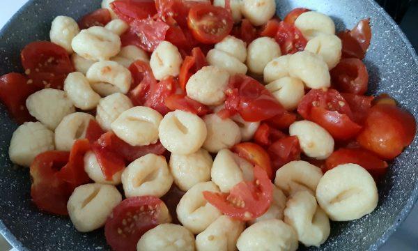Gnocchi al pomodoro fresco