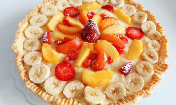 Crostata di frutta estiva