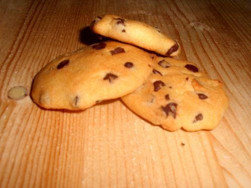 Biscotti gluten free con gocce di cioccolato