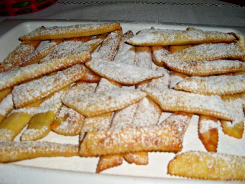 Maltagliati dolci di Carnevale