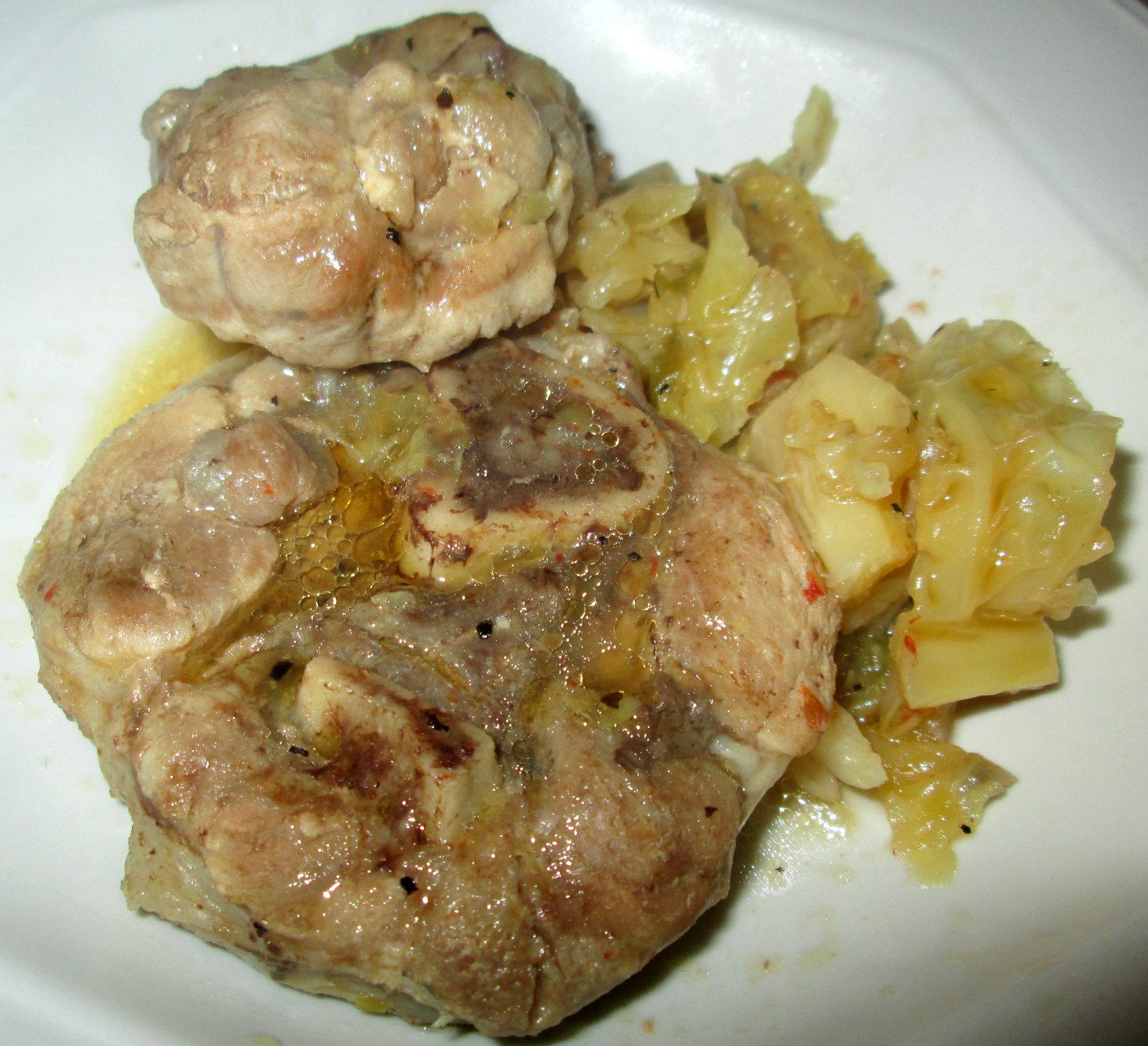 ricette costine di maiale con verza - le ricette di giallozafferano - Come Cucinare Le Puntine Di Maiale