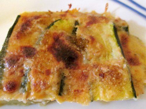Parmigiana di Zucchine affumicata