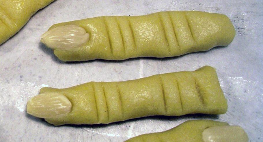 dita salate della strega
