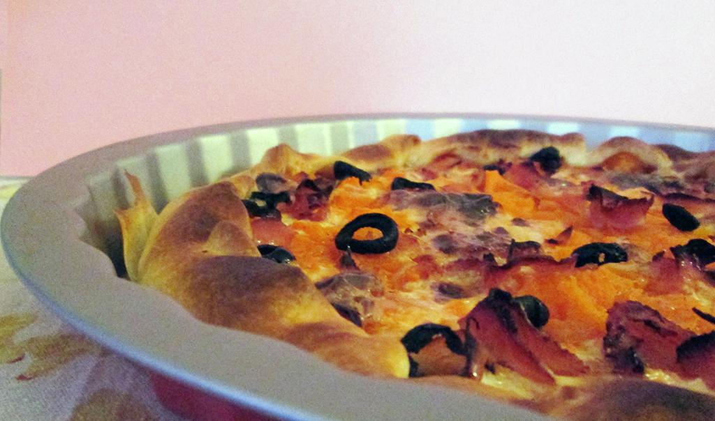 Torta salata alla Zucca con Speck