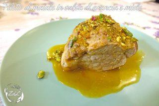 Filetto di maiale in salsa di arancia e miele