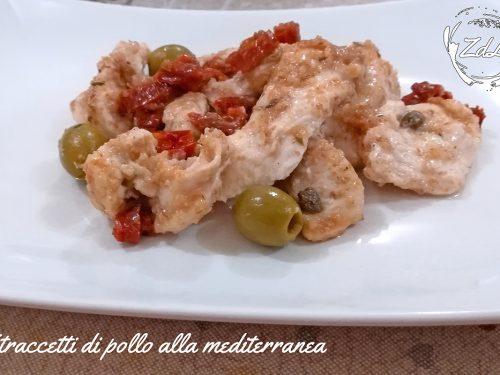 Straccetti di pollo alla mediterranea
