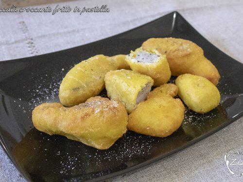 Baccalà croccante fritto in pastella