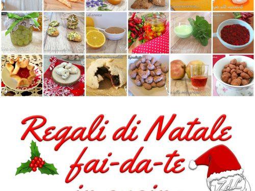 Regali di Natale fai-da-te in cucina idee facili e veloci