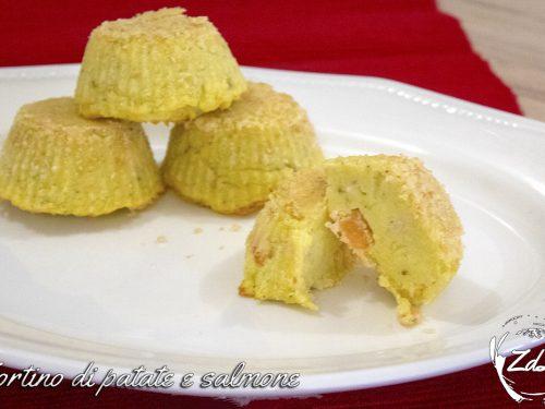 Tortini di patate e salmone