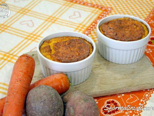 Sformatini di carote