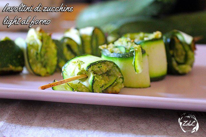 involtini di zucchine light al forno