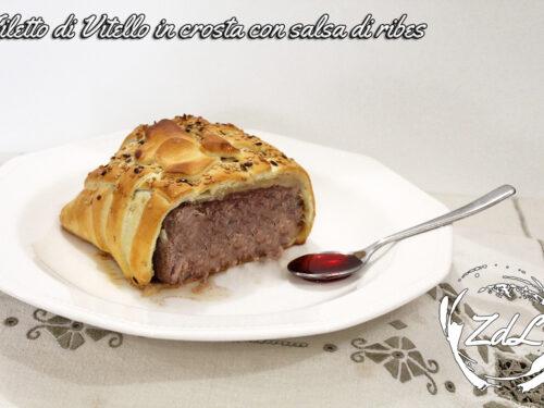 Filetto di Vitello in crosta con salsa di ribes