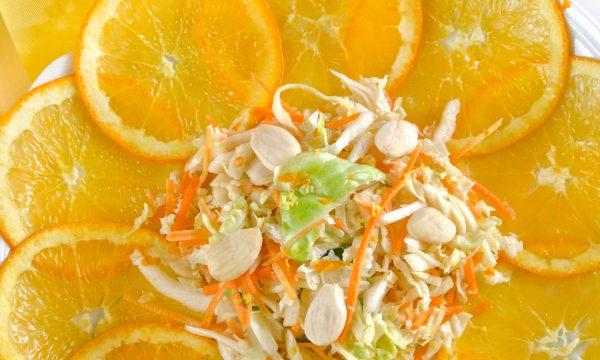 Insalata di cavolo verza e carote