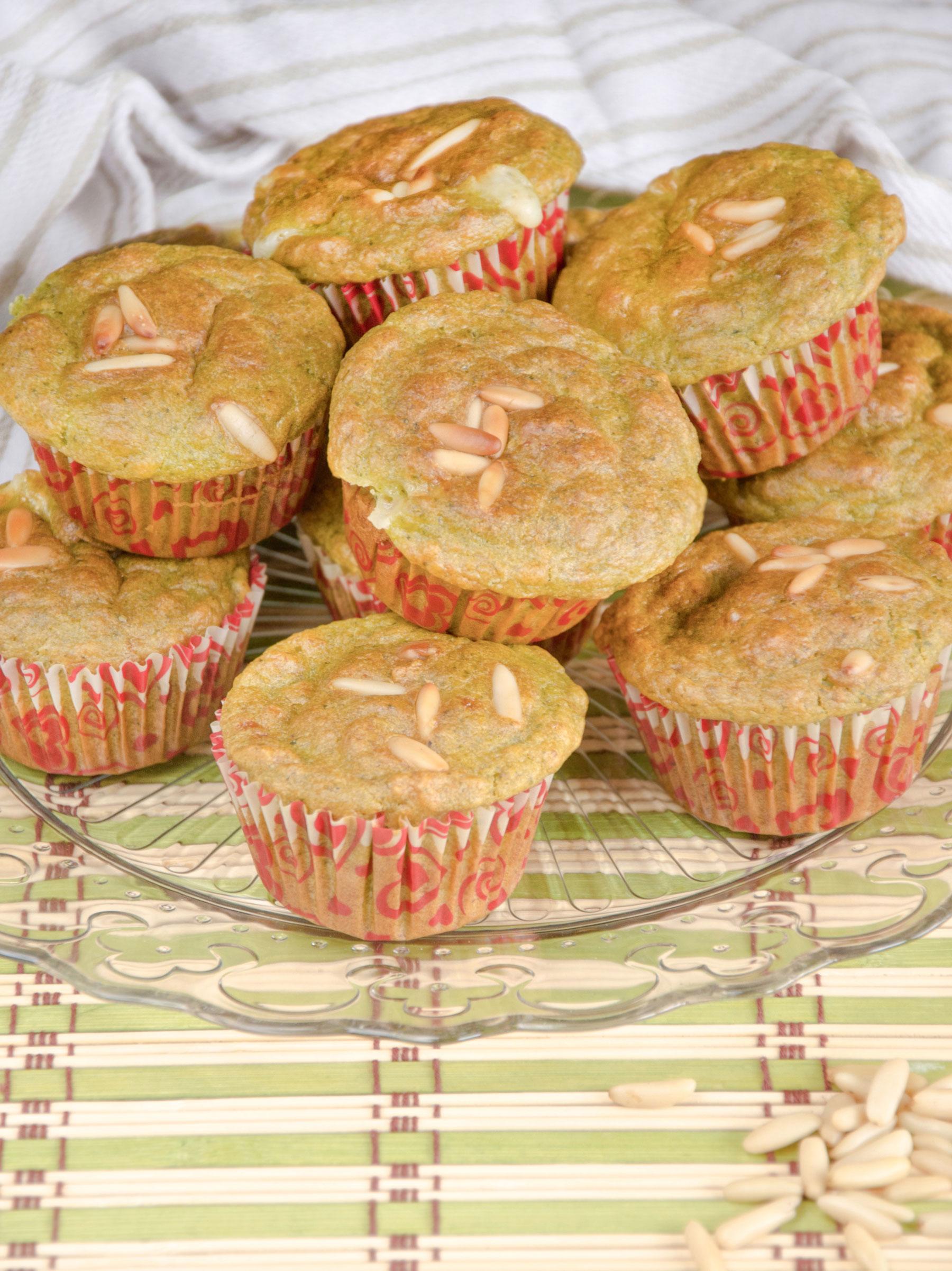 Muffin al pesto squisiti