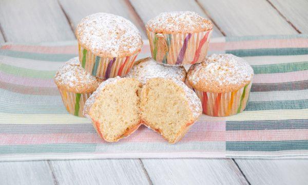 Muffin golosi con panna e miele