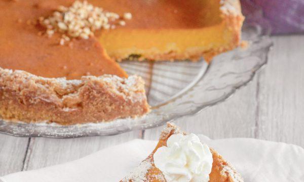 Pumpkin pie del Ringraziamento