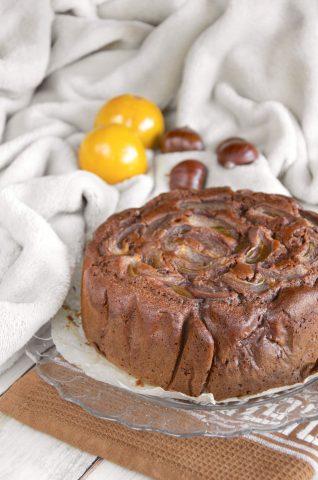 Torta deliziosa con castagne ricetta golosissima