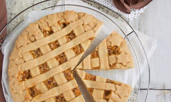 Crostata con farina semintegrale senza burro