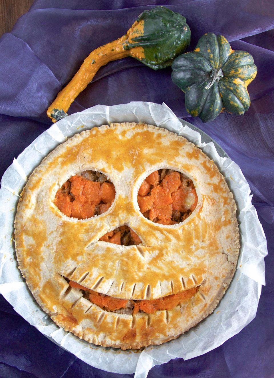 Ricetta Halloween faccia Jack o' Lantern