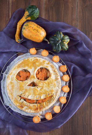 Ricetta Halloween torta salata sfiziosa
