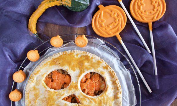 Ricetta per Halloween con zucca e salsiccia